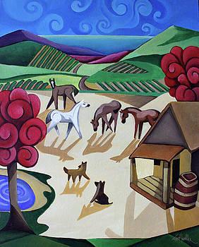 Wine Farm by Lance Headlee