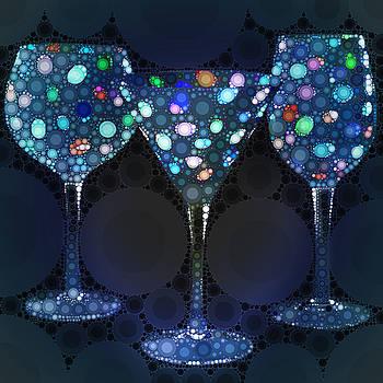 Nina Bradica - Wine Glass Art-4