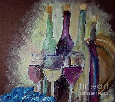 Donna Walsh - Wine makes life  better