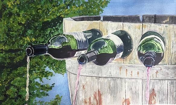 Wine Tasting Anyone? by Sharon Gerber