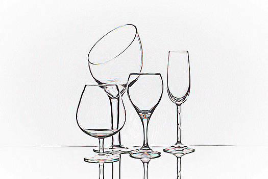 Tom Mc Nemar - Wineglass Graphic