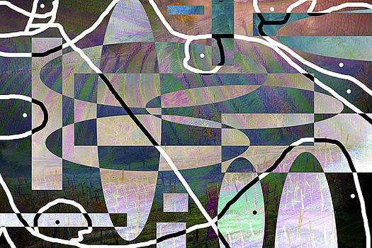 Wineyard Abstract by Matjaz Preseren