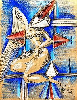 Winged Space by Inga Vereshchagina