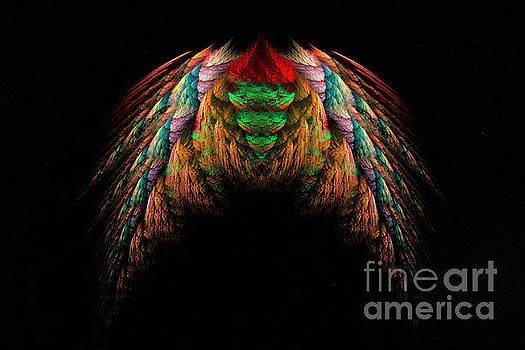 Justyna Jaszke JBJart - Wings fractal art