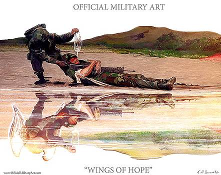 Todd Krasovetz - Wings Of Hope Design for T Shirts