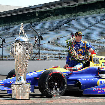 Winner of 2016 Indy 500 by Rob Banayote