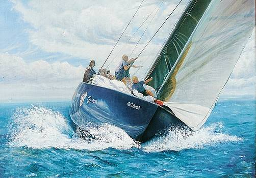 Winning Breeze by Peter Jean Caley