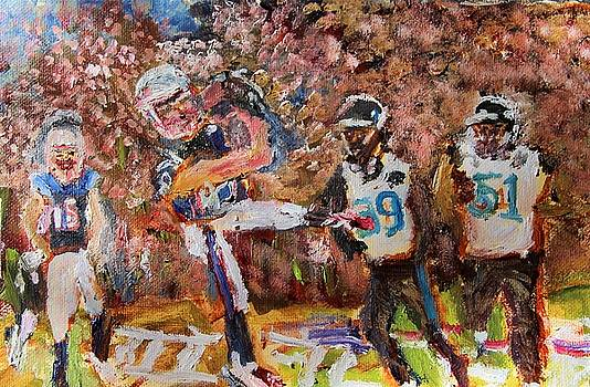 Winning Catch by Michael Helfen