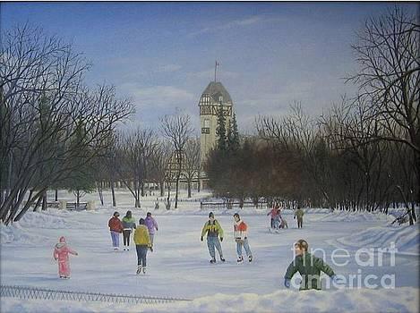 Winnipeg Assiniboine Park by Sid Ball
