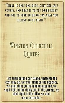 Winston Churchill10 by David Norman