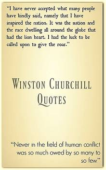 Winston Churchill3 by David Norman