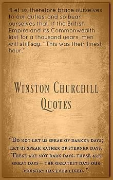 Winston Churchill5 by David Norman
