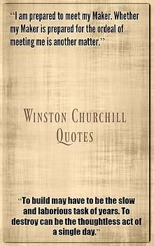 Winston Churchill8 by David Norman