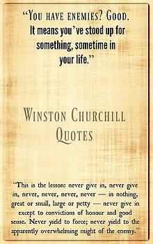 Winston Churchill9 by David Norman