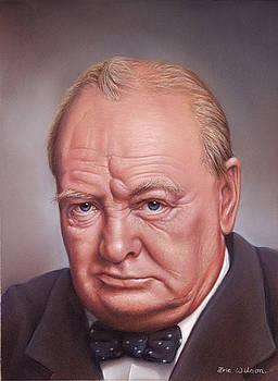 Winston Spencer Churchill by Eric Wilson