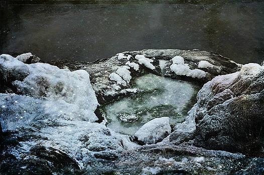 Winter Abstract by Randi Grace Nilsberg