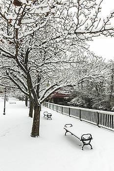 Winter along the Winnipesaukee River by Robert Clifford