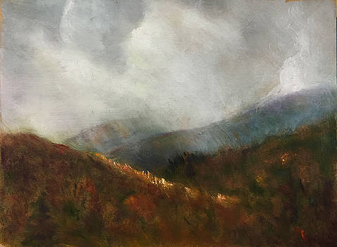 Winter Arrives in the White Mountains by Aline Lotter