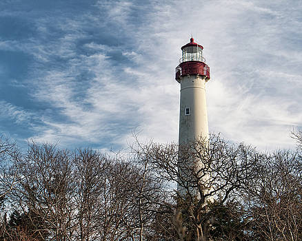 Kristia Adams - Winter at Cape May Light