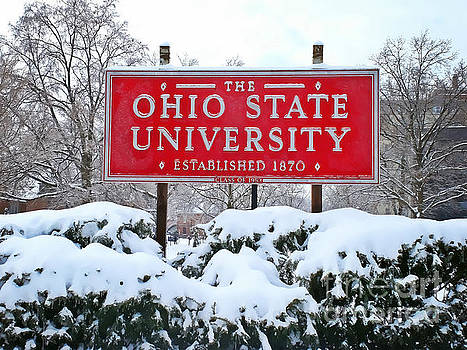 Winter at Ohio State by Rachel Barrett