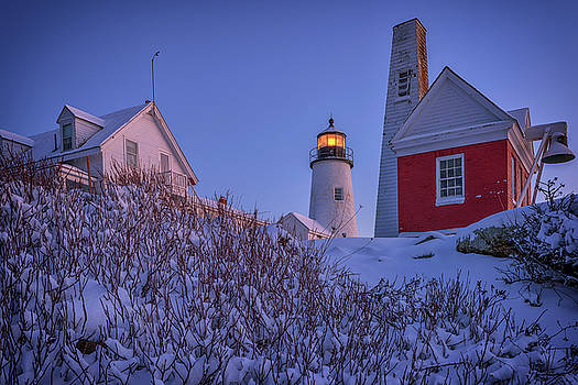 Winter at Pemaquid Point by Rick Berk