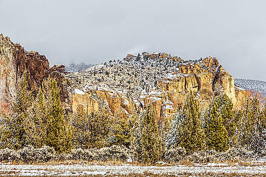 Winter at Smith Rock by David Millenheft