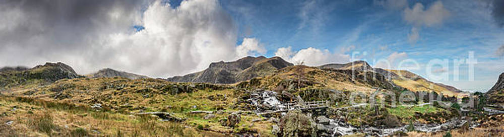 Winter at Snowdonia by Adrian Evans