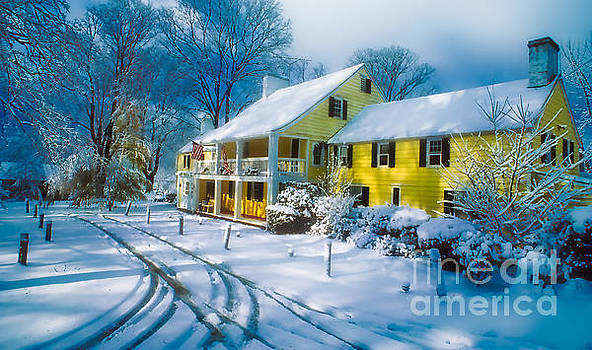 Winter at the Inn by Larry Mulvehill