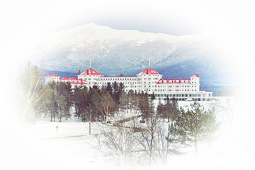 Winter at the Mt Washington Hotel 2 by Tricia Marchlik