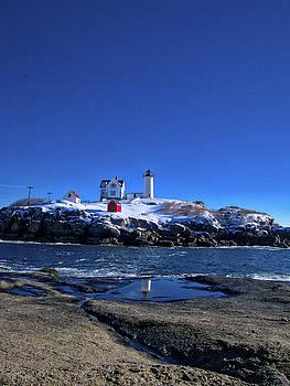 Steven Ralser - Winter at the Nubble Lighthouse - York - Maine III