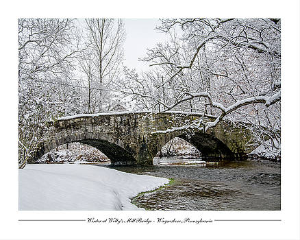 Winter at Welty's Mill Bridge by Andy Smetzer