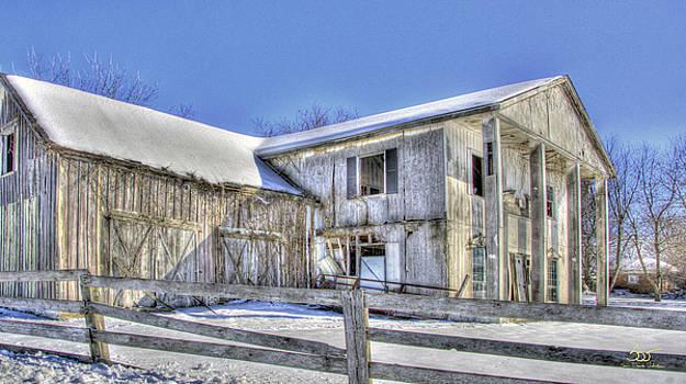 Sam Davis Johnson - Winter Barn 2