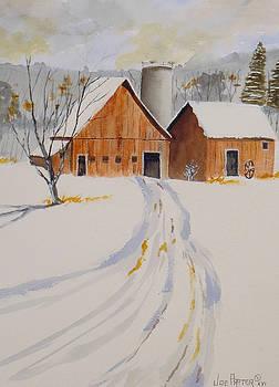 Winter Barn  by Joe Prater