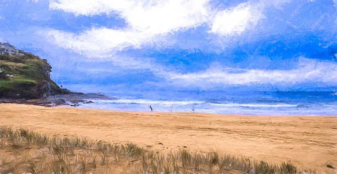 Winter Beach by Chris  Hood
