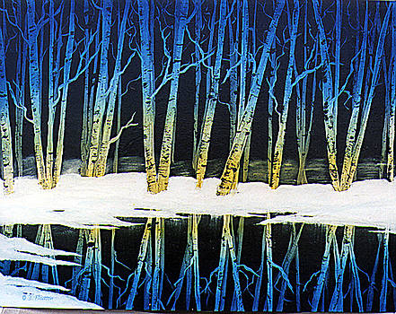 Dee Flouton - Winter Birches