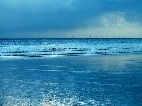 Winter Blue Beach by Emma Manners