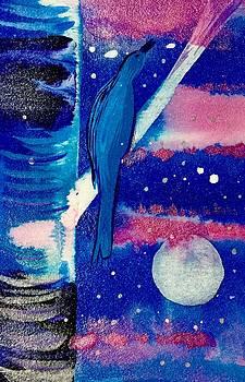 Winter Bluebird by Gina Signore
