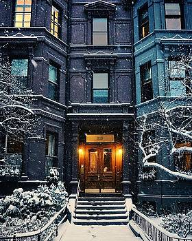 Winter Blues house portrait by Brian McWilliams