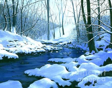 Winter Blues  by Michael Swanson
