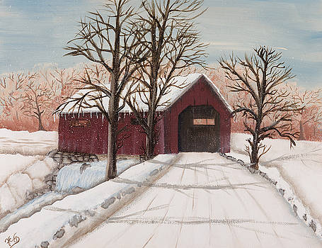 Winter Bridge by Julia Ellis