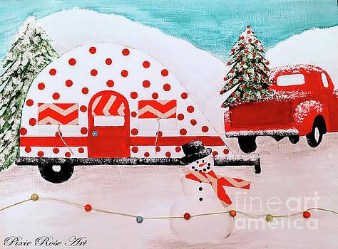 Winter Camping by Danielle Allard