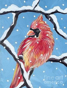 Winter Cardinal by Renee Hilimire