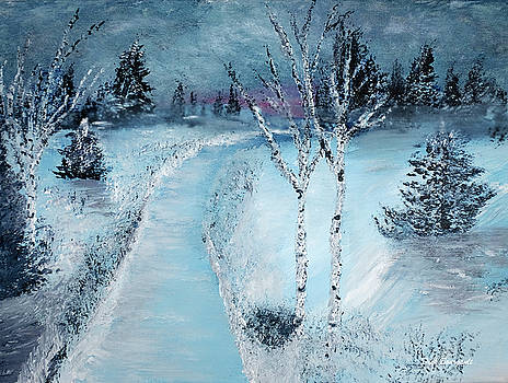 Winter Chill by Dick Bourgault
