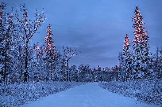 Winter Closing by Ron Day