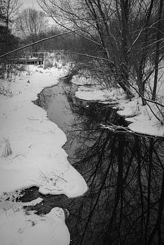 Winter Creek by Patricia Gapske