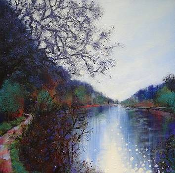 Winter Creswell Crags by Ruth Gray