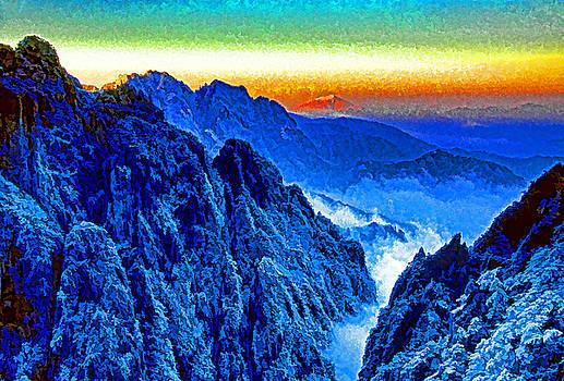 Winter Dawn Huangshan by Dennis Cox Photo Explorer