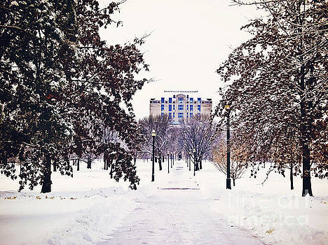 Winter Days at Ohio State by Rachel Barrett