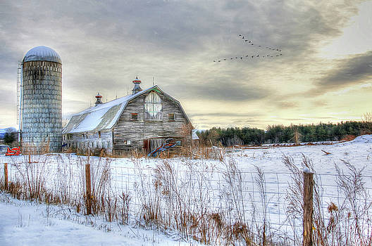 Winter Days in Vermont by Sharon Batdorf