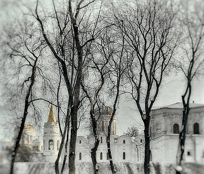 Winter dreams of ancient Val. Chernihiv, 2018. by Andriy Maykovskyi